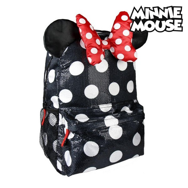 Mochila Escolar Minnie Mouse 1940 Negro