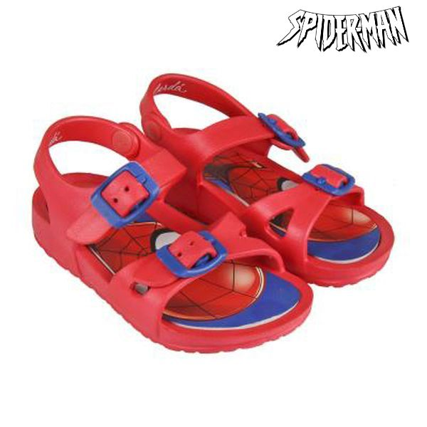 Sandalias de Playa Spiderman 73060 Rojo