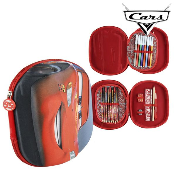 Plumier Triple Cars 3493 Rojo