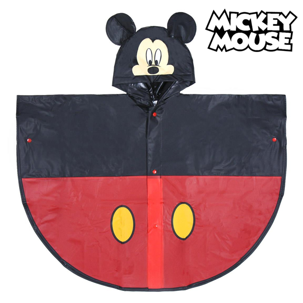 Poncho Impermeable con Capucha Mickey Mouse 70482