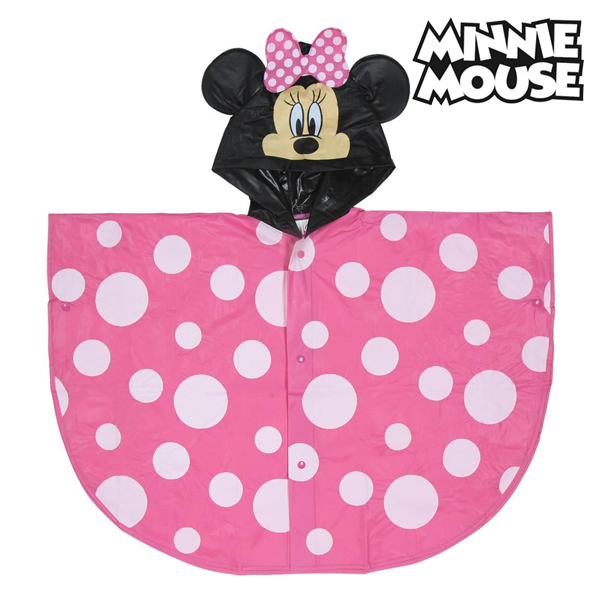 Poncho Impermeable con Capucha Minnie Mouse 70483