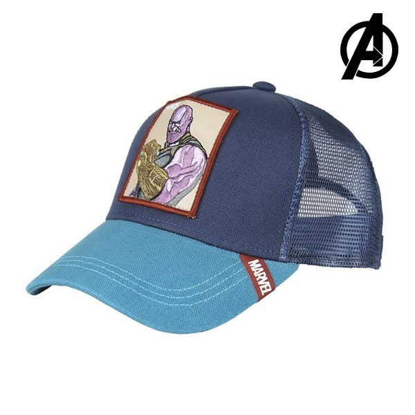 Gorra Unisex Thanos The Avengers 71064 (58 cm)