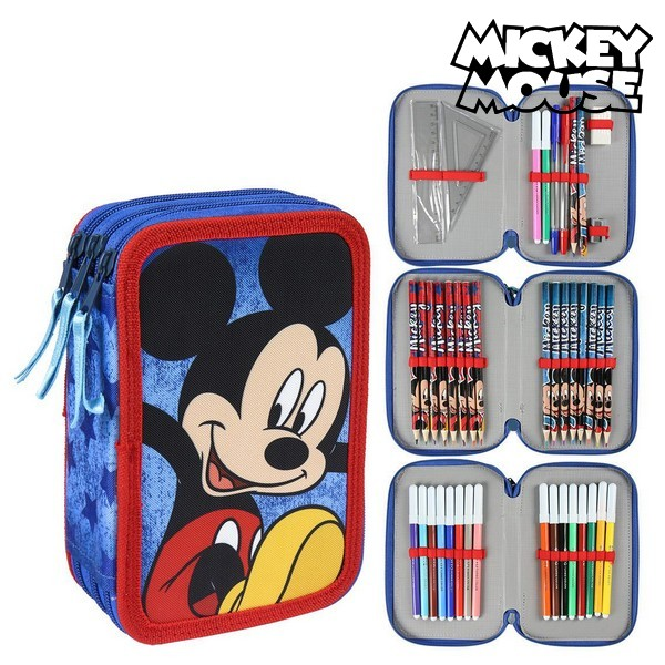 Plumier Triple Mickey Mouse 78728