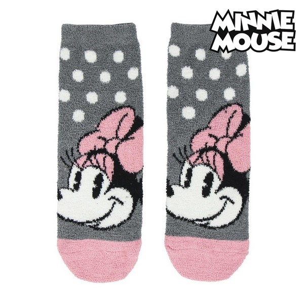 Calcetines Antideslizantes Minnie Mouse 74473 Gris