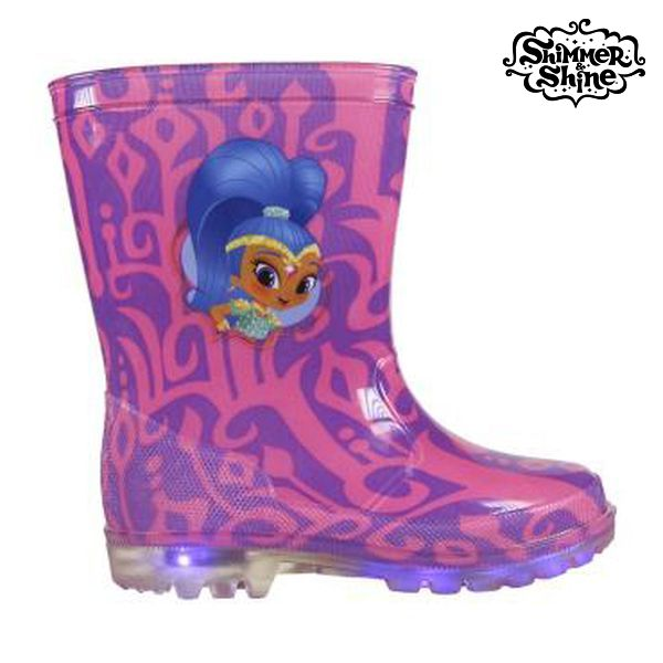 Botas de Agua Infantiles con LED Shimmer and Shine 72765