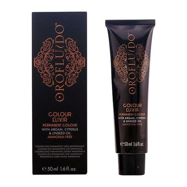 Tinte sin Amoniaco Colour Elixir Orofluido (50 ml)