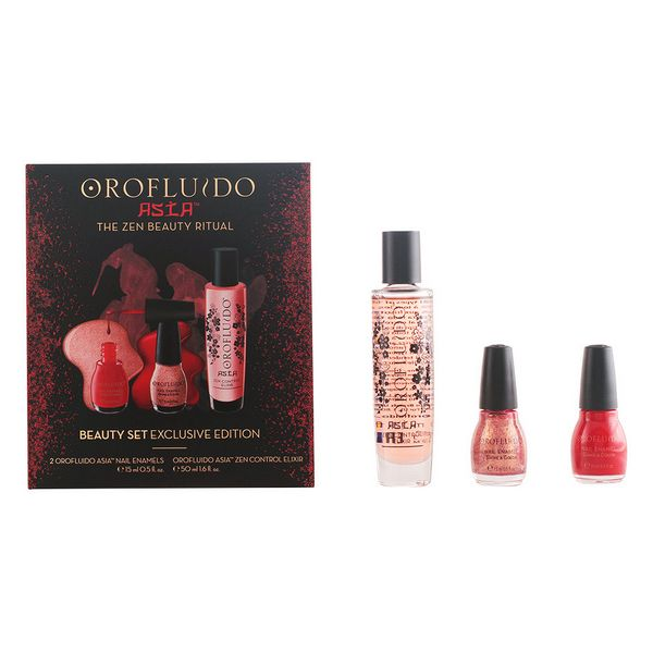 Set de Manicura Asian Orofluido 84961