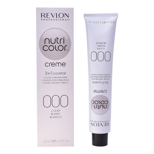 Tinte Permanente Nutri Color Revlon N 000 (100 ml)