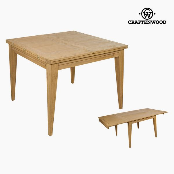 Mesa Extensible Madera de mindi (100 x 100 x 78 cm) by Craftenwood