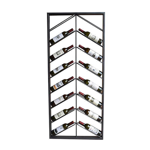 Botellero Metal Wall (160 x 6 x 70 cm)