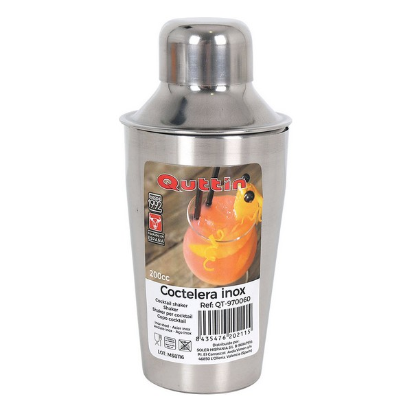Coctelera Quttin 200 ml Acero inoxidable