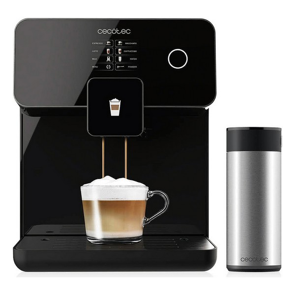 Cafetera Eléctrica Cecotec Power Matic-ccino 8000 Touch 1,7 L 1500W Negro