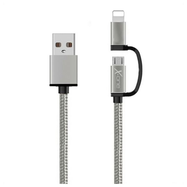 Cable USB para iPad/iPhone Ref. 101127 Plata