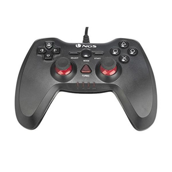 Mando Gaming NGS NGS-GAMING-0015 PC/PS3 USB LED Negro
