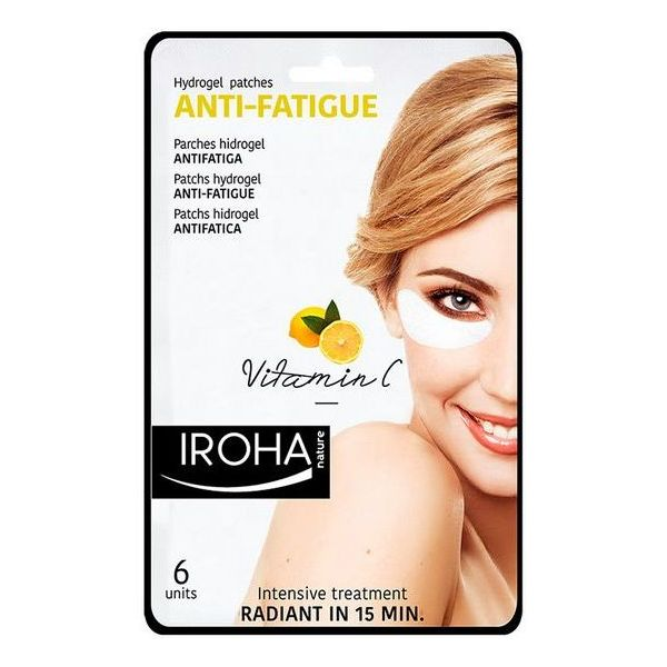 Parches para el Contorno de Ojos Eyes & Lips Antifatigue Iroha (6 pcs)