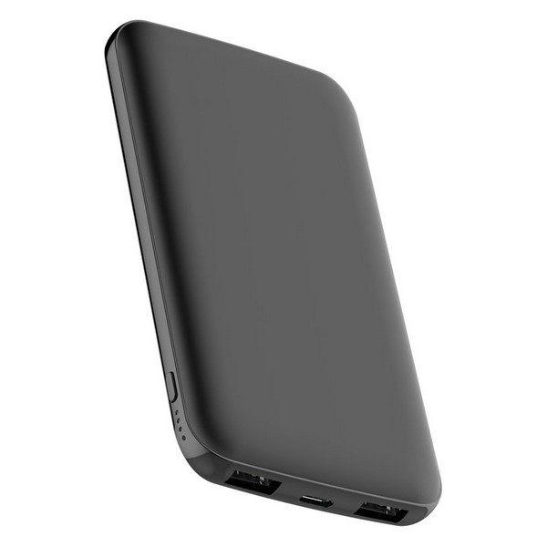 Power Bank CoolBox COO-PB10KS-BK 10000 MAH Negro