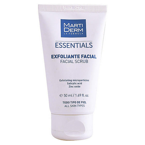 Exfoliante Facial Essentials Martiderm (50 ml)