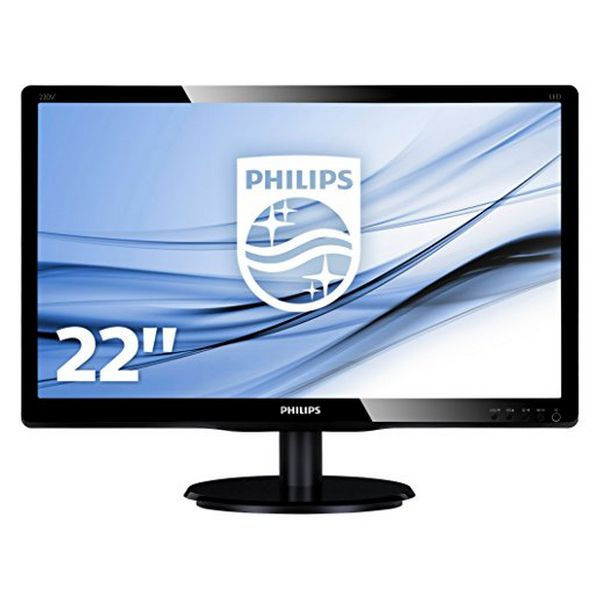 "Philips 223V5LSB2 Monitor 21.5"" Led 16:9 5ms Slim"