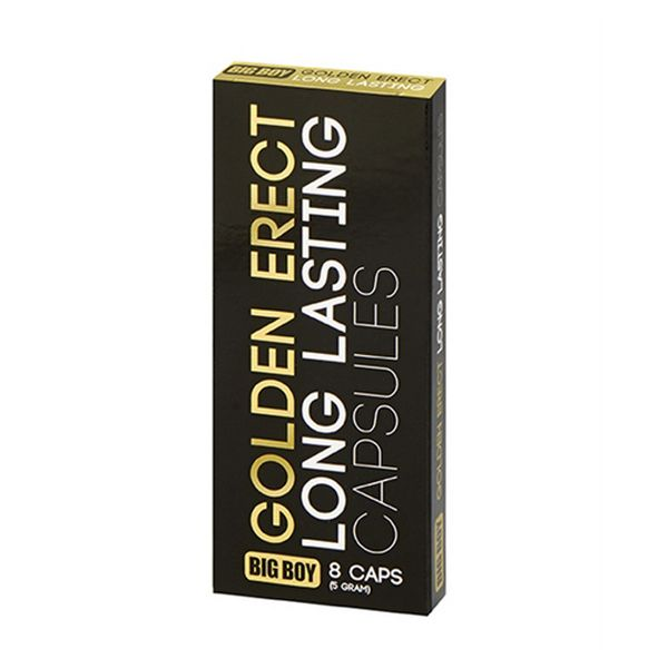 Pastillas Golden Para Prolongar la Erección Big Boy 79607