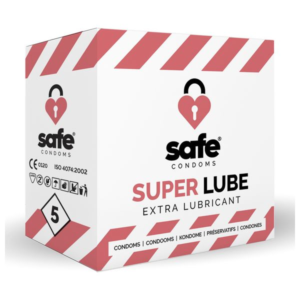 Preservativos Super Lube Safe