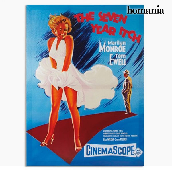 Cartel de Cine Marilyn Monroe The Seven Year Itch Homania