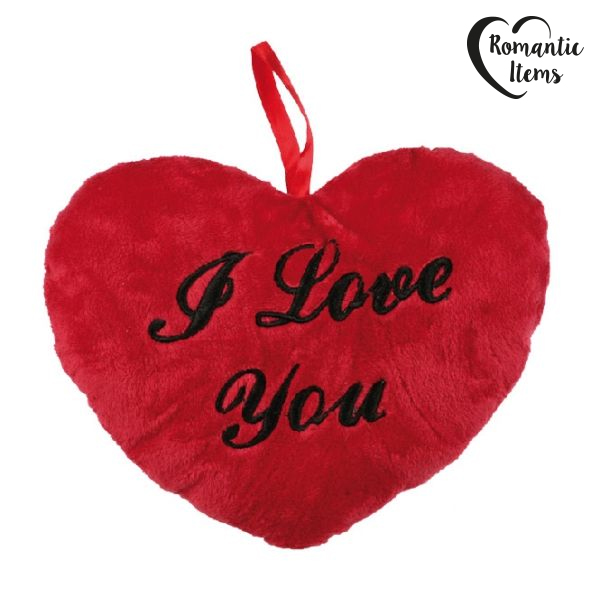 Corazón de Peluche I Love You Romantic Items (26 cm)