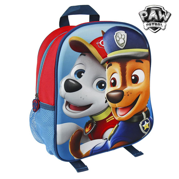 Mochila Escolar 3D The Paw Patrol 6944