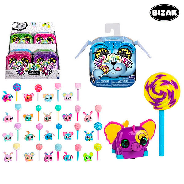 Mascota Interactiva Lollipets Bizak