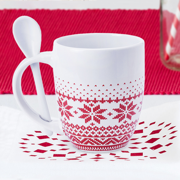 Taza con Cucharita (370 ml) 145193