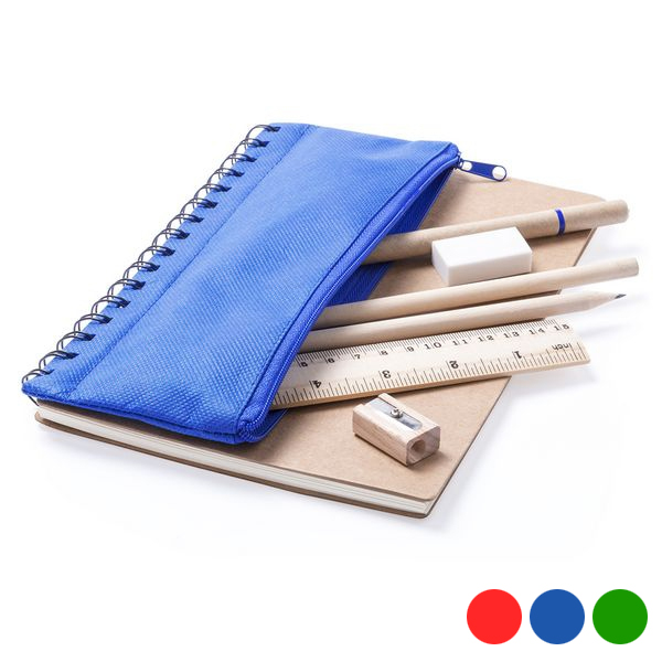 Libreta con Estuche Integrado (6 pcs) 145661
