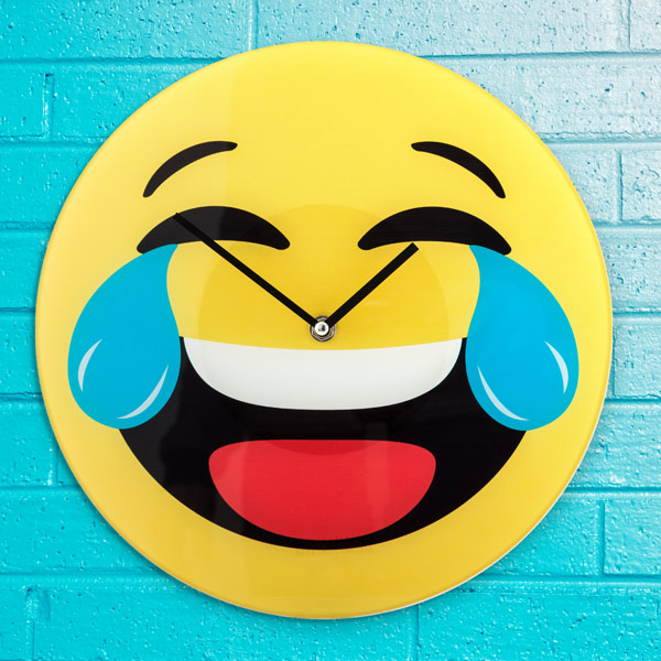Reloj de Pared Emoticono Risa Gadget and Gifts