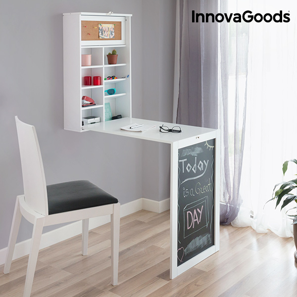 Escritorio Plegable de Pared InnovaGoods