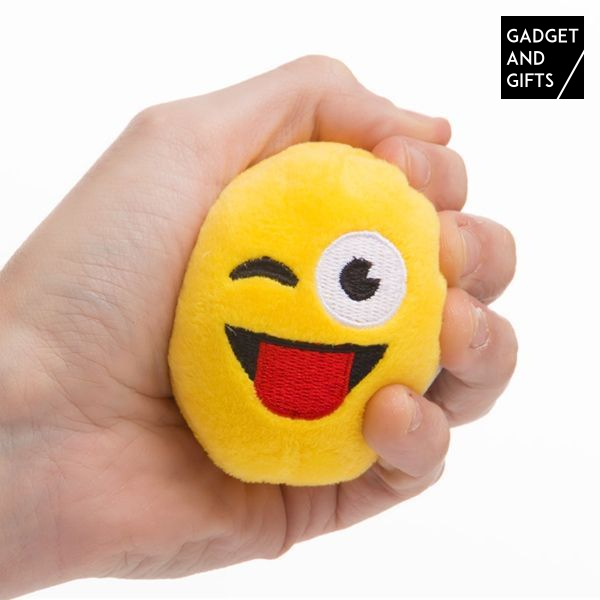 Pelota de Peluche Emoticono Gadget and Gifts