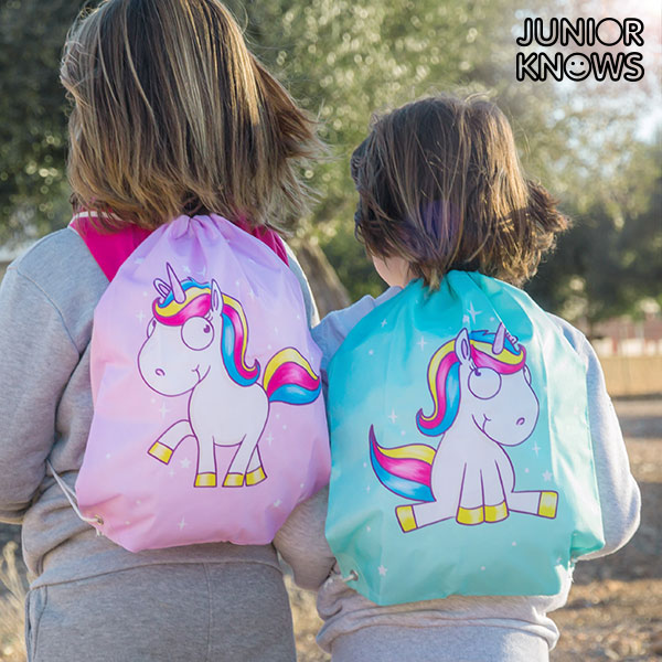 Bolsa Mochila con Cuerdas Unicornio Junior Knows