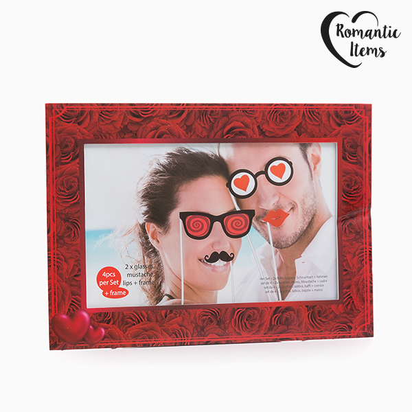 Accesorios Románticos para Fotos Divertidas Romantic Items (Pack de 5)