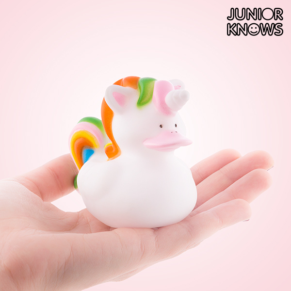 Patito de Goma Unicornio Junior Knows