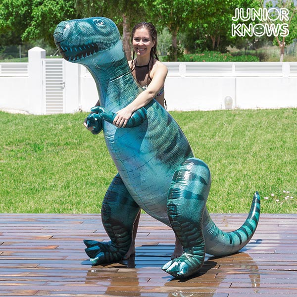 Dinosaurio Hinchable Gigante T-Rex Junior Knows