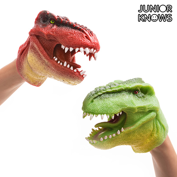 Marioneta de Mano Dinosaurio Junior Knows