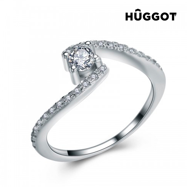 Anillo de Plata Esterlina 925 con Zirconitas Marilyn Hûggot